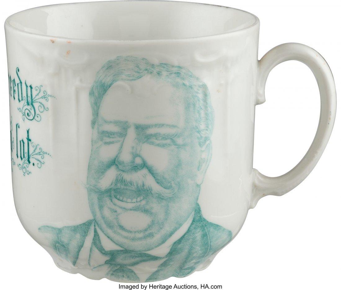 43501: William Howard Taft: Humorous Large Coffee Mug.