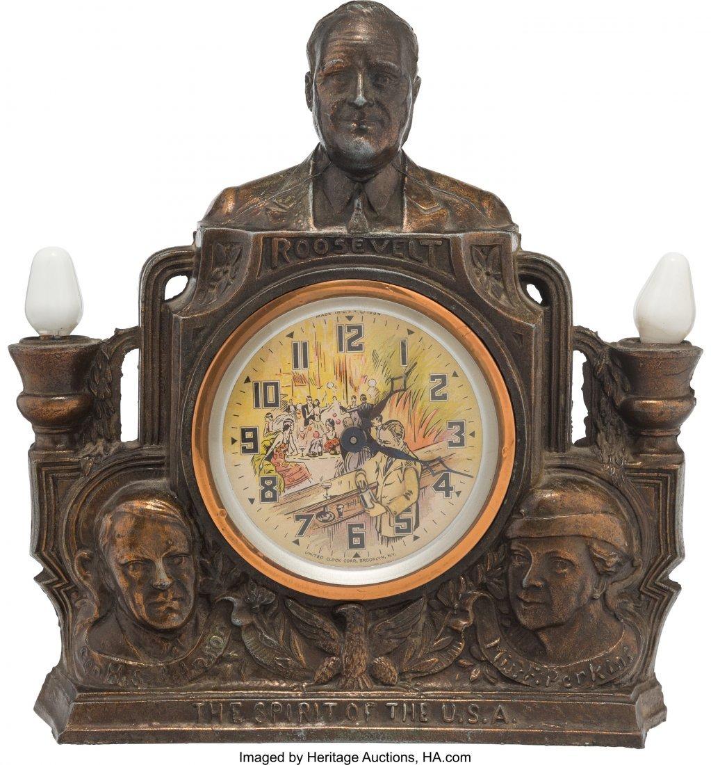 43595: Franklin D. Roosevelt: Mechanical Bartender Mant