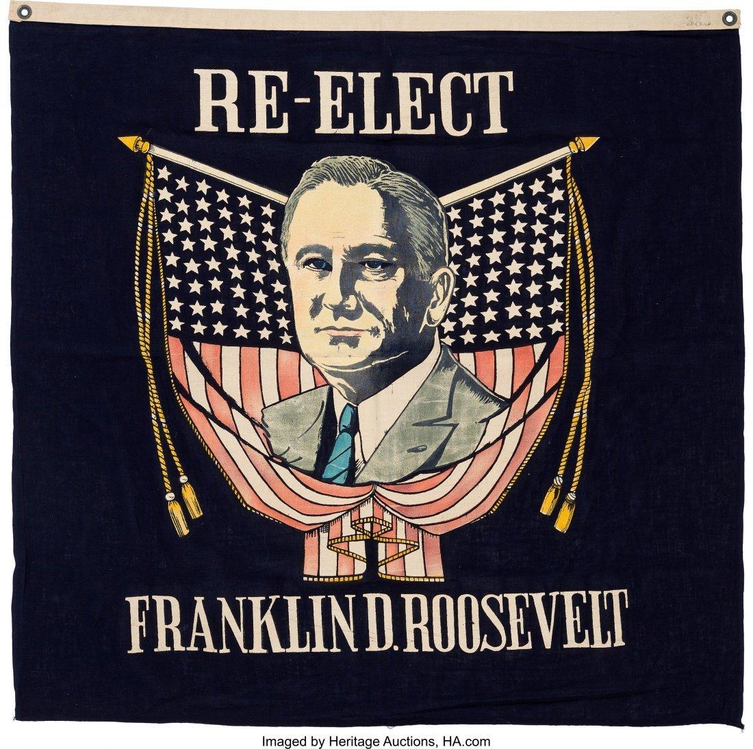 43598: Franklin D. Roosevelt: Dynamic Silkscreen Portra