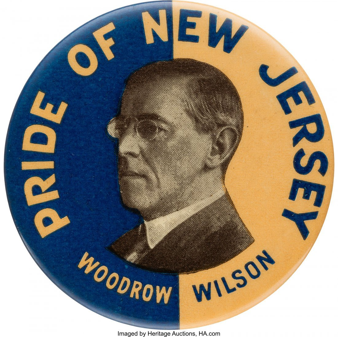 "43508: Woodrow Wilson: Rare and Desirable ""Pride of New"