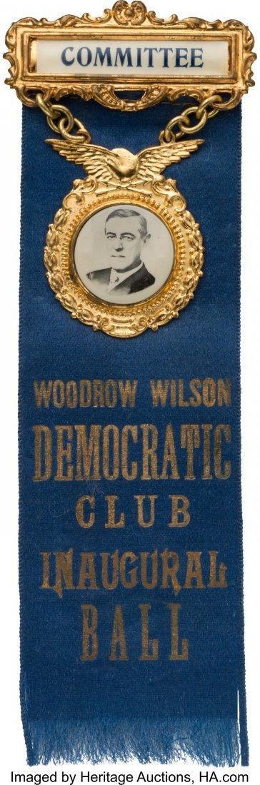 43511: Woodrow Wilson: Stunning Gubernatorial Inaugural