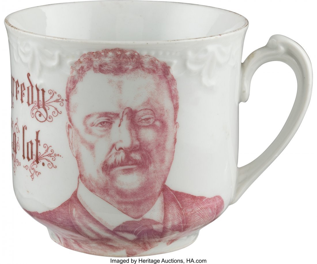 43467: Theodore Roosevelt: Humorous Large Coffee Mug. 3