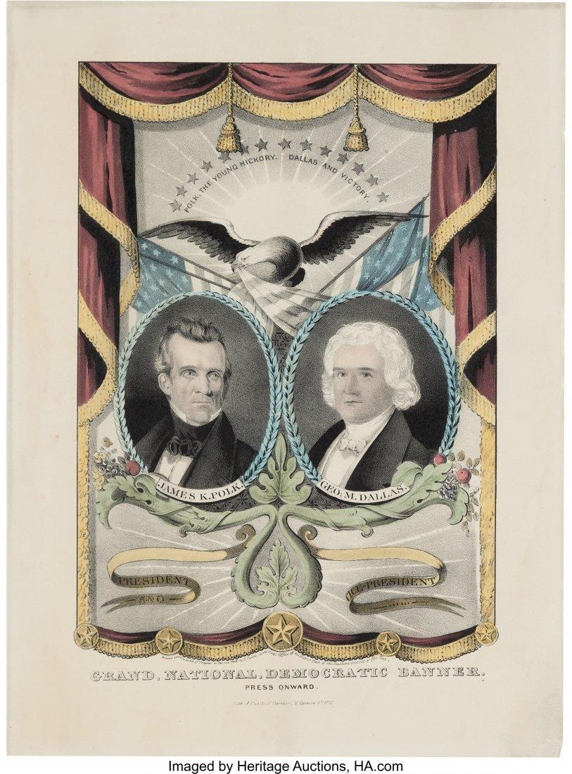 43088: Polk & Dallas: Jugate Grand National Banner in E