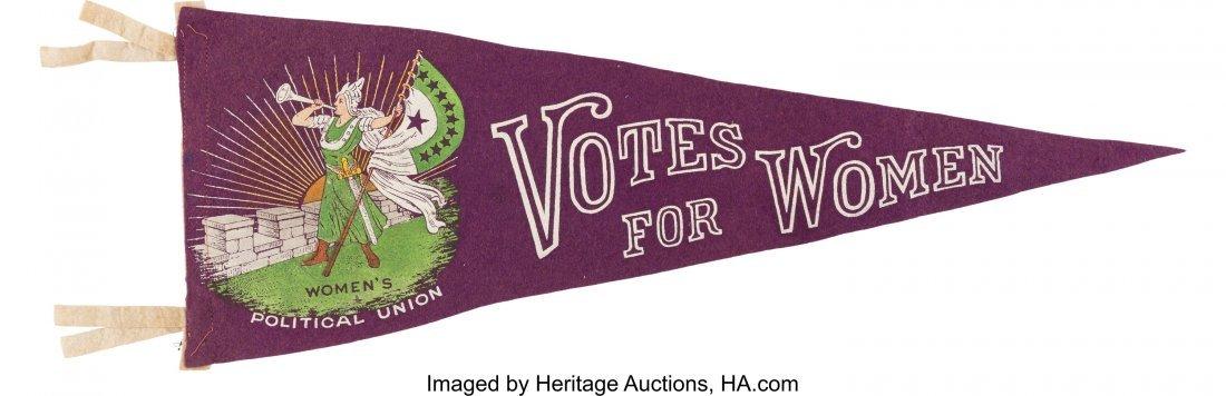43523: Woman's Suffrage: Gorgeous Women's Political Uni
