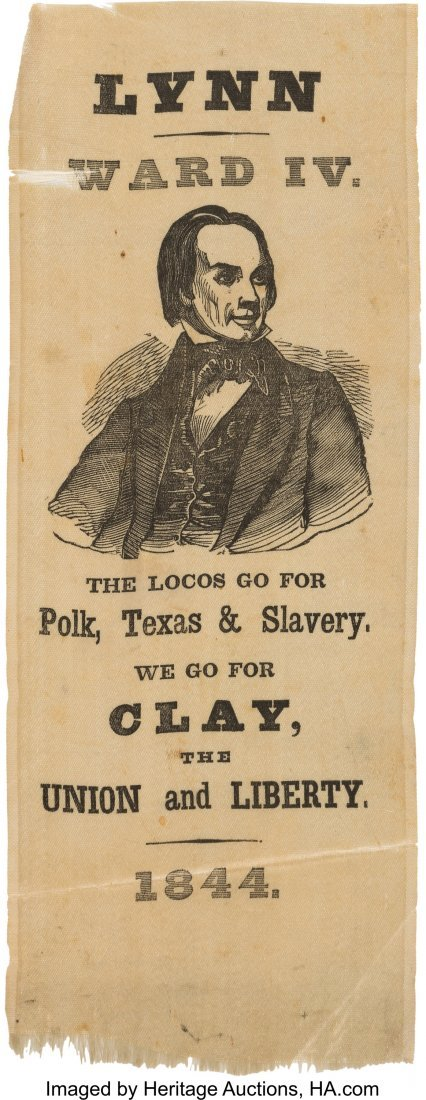 43095: Henry Clay: Great Anti-Texas, Anti-Slavery Portr