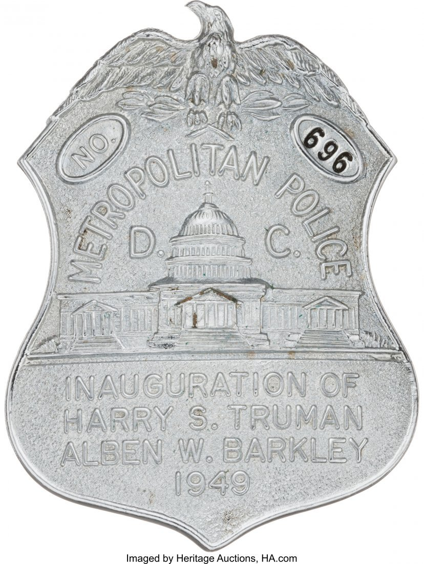 43620: Harry S. Truman: Metropolitan Police Inauguratio