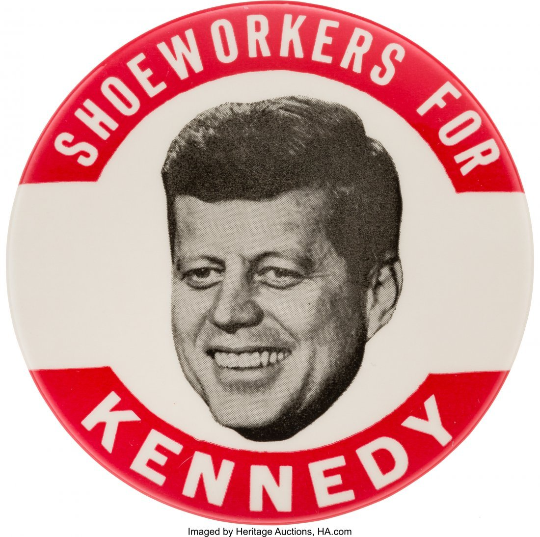 43637: John F. Kennedy: Popular Shoeworkers Picture Pin