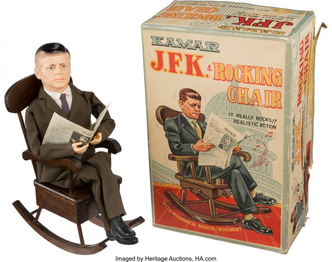 43649: John F. Kennedy: Presidential Rocking Chair Nove