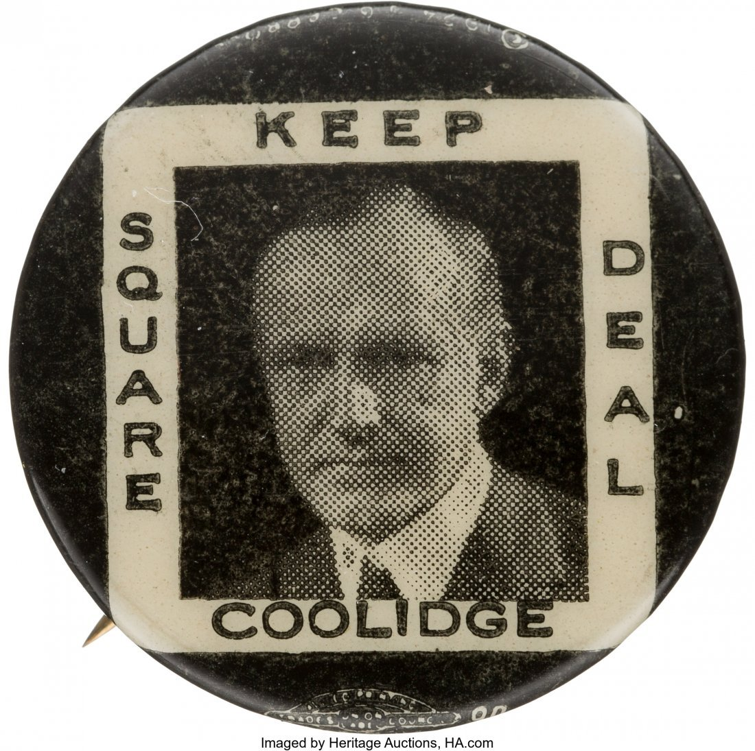 43557: Calvin Coolidge: Classic and Hard-to-Find Square