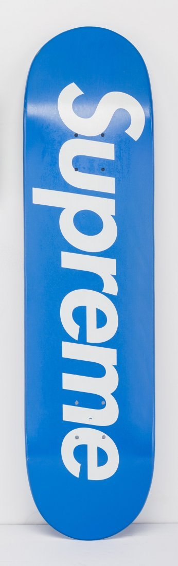 14056: Supreme  Skateboard (Blue), 2007 Screenprint in