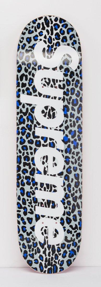 14059: Supreme  Leopard Skatedeck (Purple), 2009 Screen