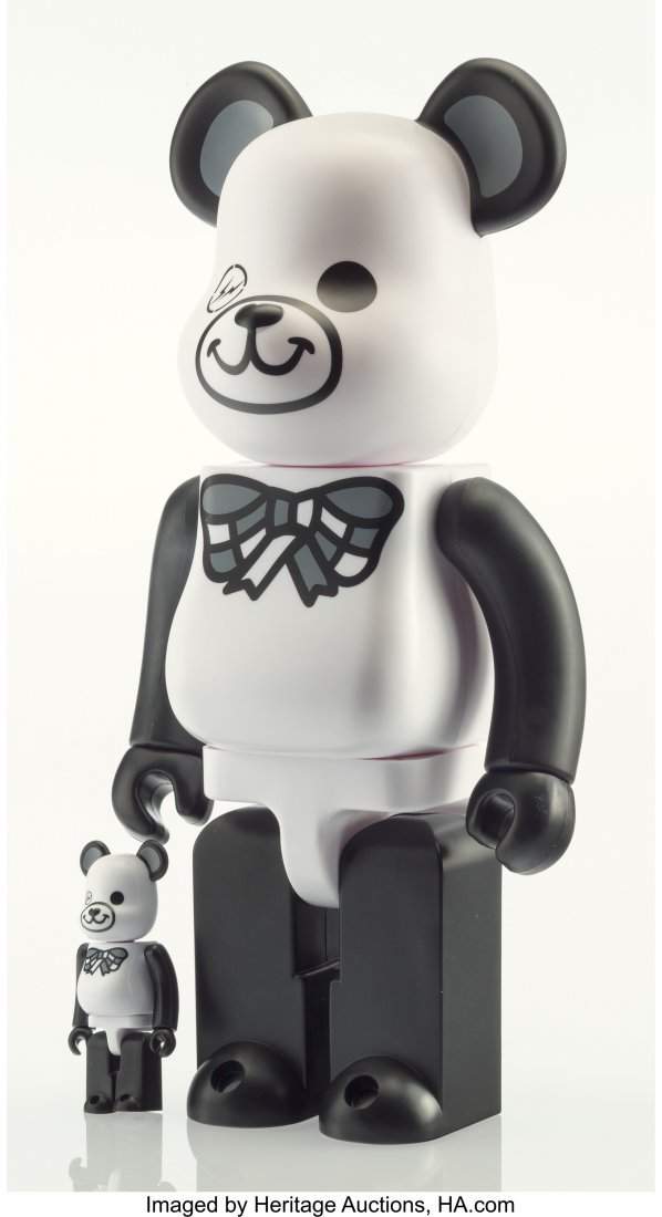 14051: BE@RBRICK X Fragment Design Freemasonry, 400% an