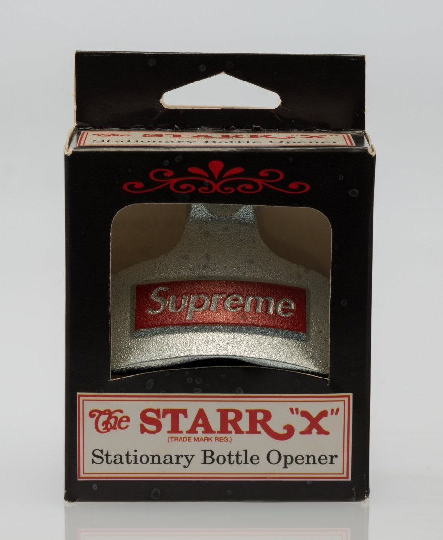 14080: Supreme X Starr Staionary Bottle Opener, n.d. Si
