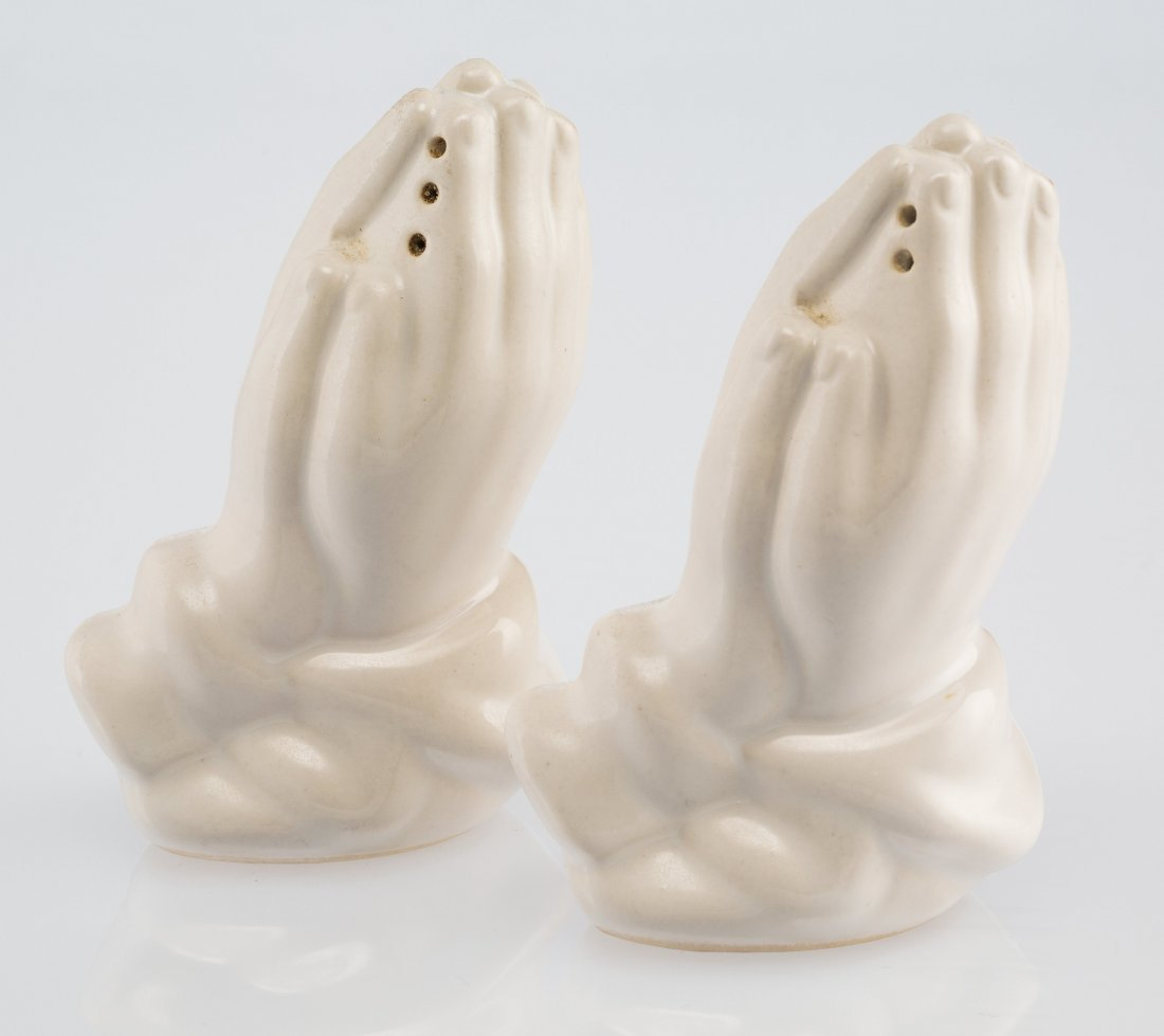 14067: Supreme Salt and Pepper Shakers (White) (set of