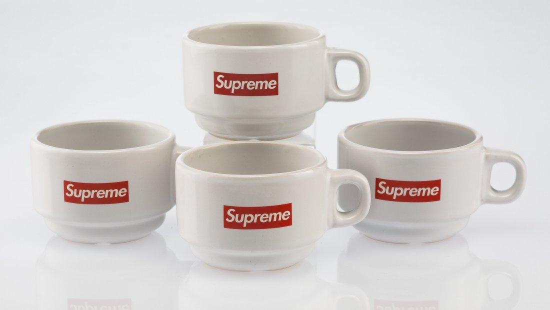 14068: Supreme  Espresso Cups (set of four), 2014 White
