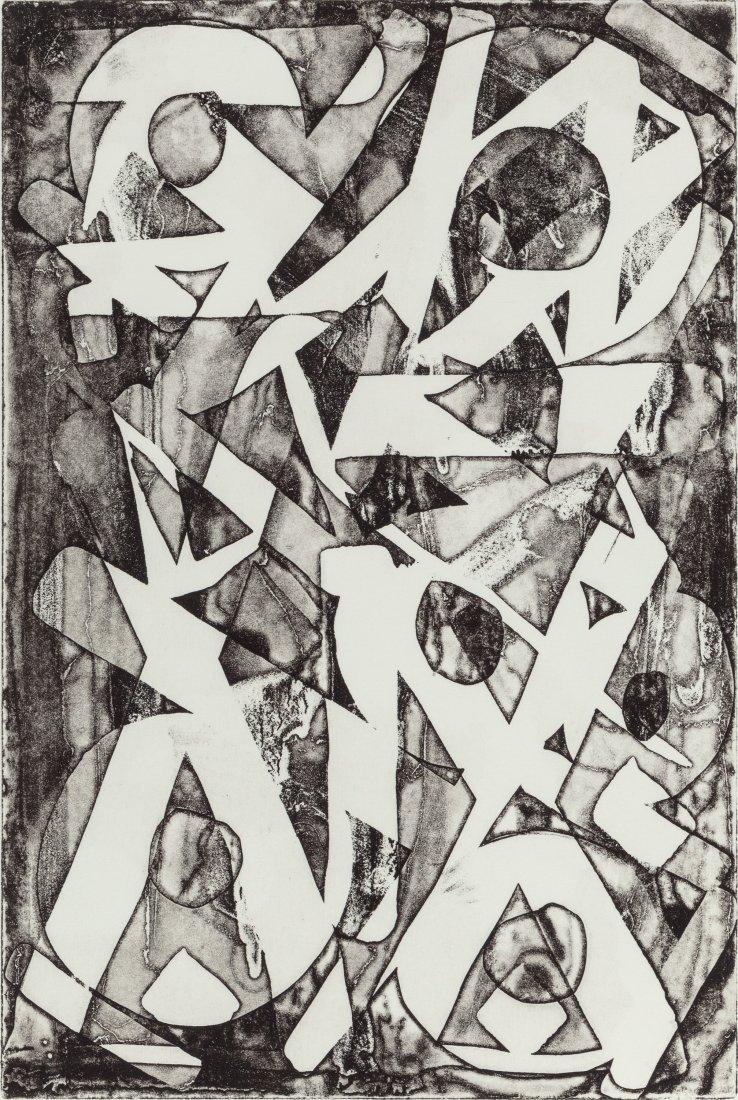 14082: RETNA (American, b. 1979) Agua Sucia II, 2012 Et