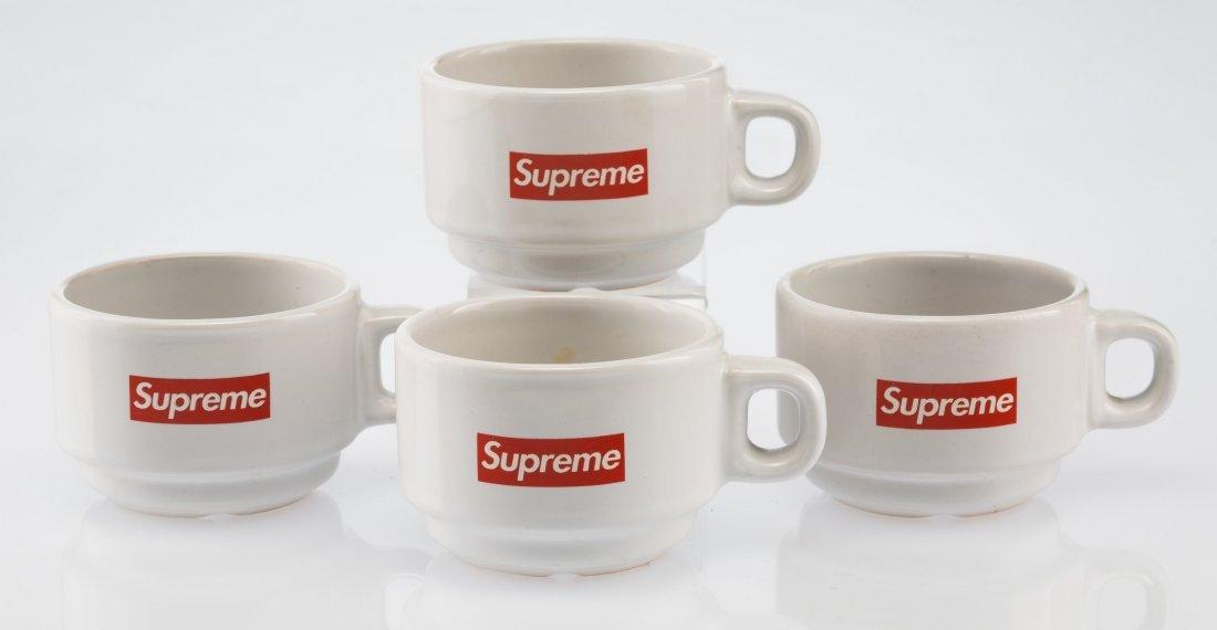 14069: Supreme  Espresso Cups (set of four), 2014 White