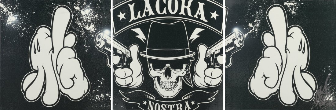 14103: OG Slick (American, 20th century) La Coka Nostra
