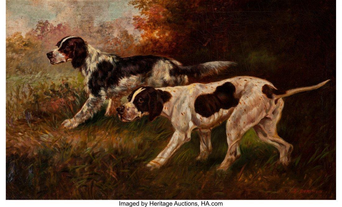 63256: Thomas Dalton Beaumont (American, 1867-1930) Two