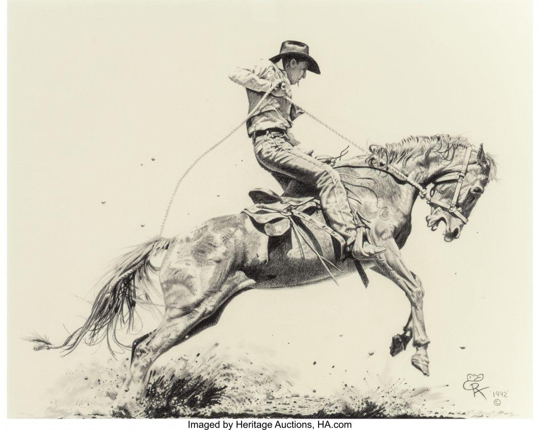 63002: Roger Archibald (American, 20th Century) Wild Ho