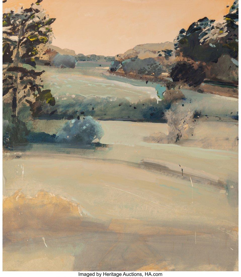 63259: Forrest Moses (American, b. 1934) Santa Fe Lands