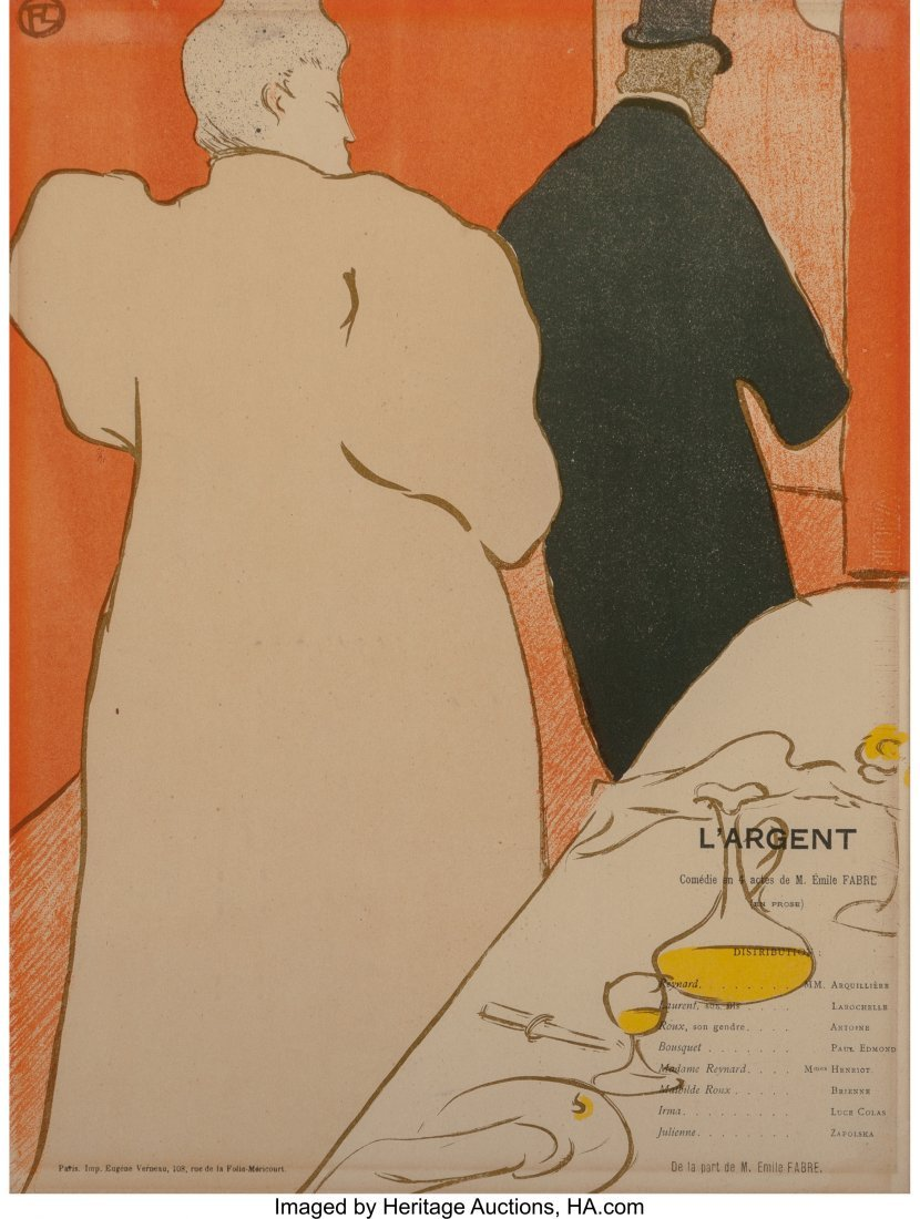 63343: Henri de Toulouse-Lautrec (French, 1864-1901) Pr