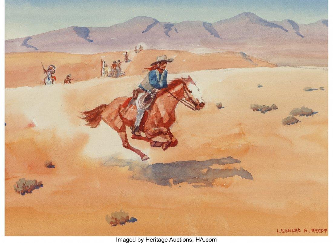 63007: Leonard Howard Reedy (American, 1899-1956) Pursu
