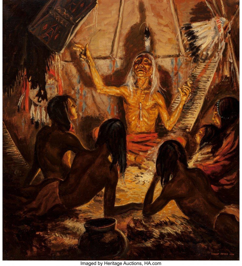63012: Ernest Berke (American, 1921-2010) Blackfoot Sto
