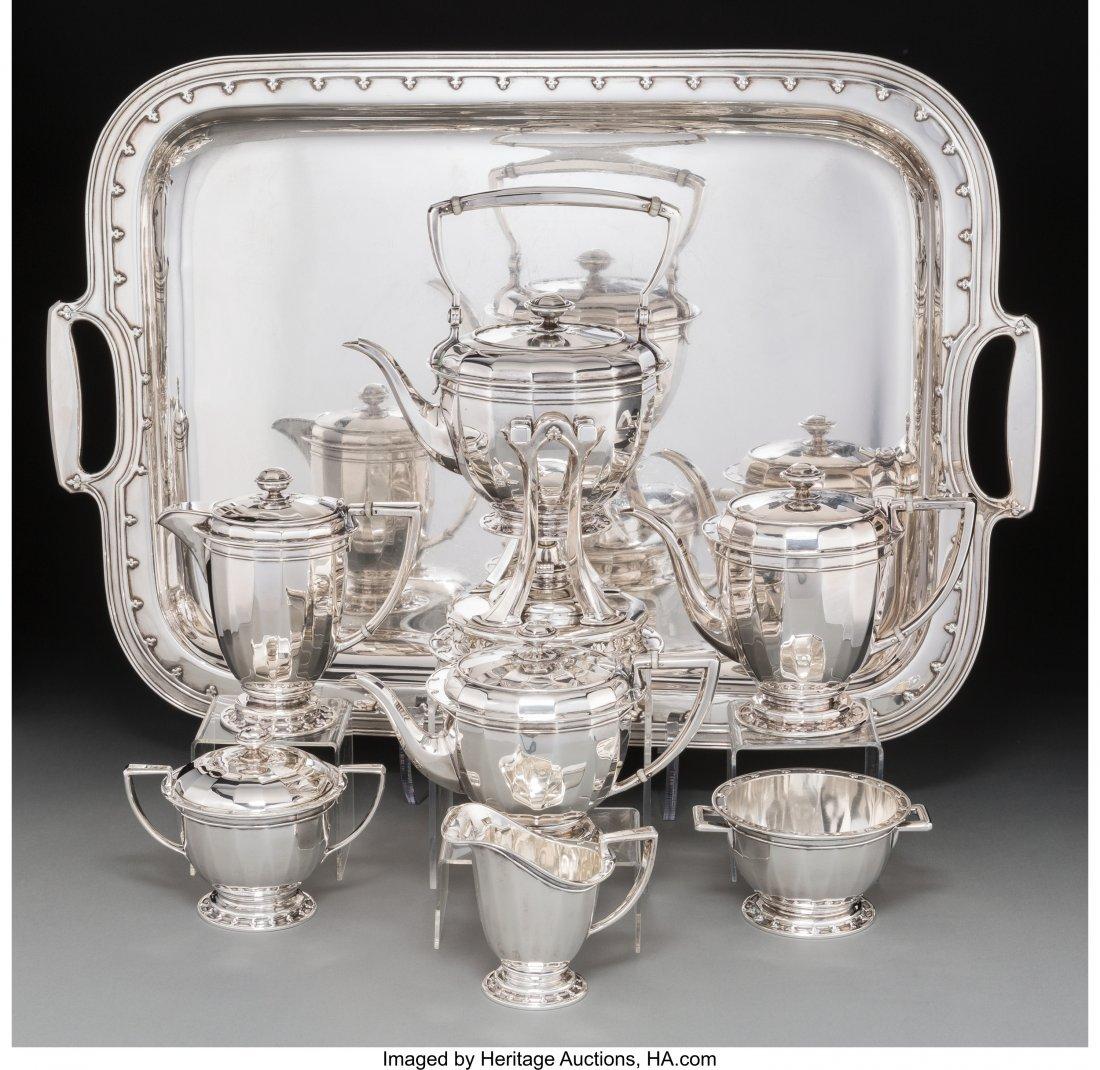 63107: An Eight-Piece Tiffany & Co. Saint Dunstan Patte