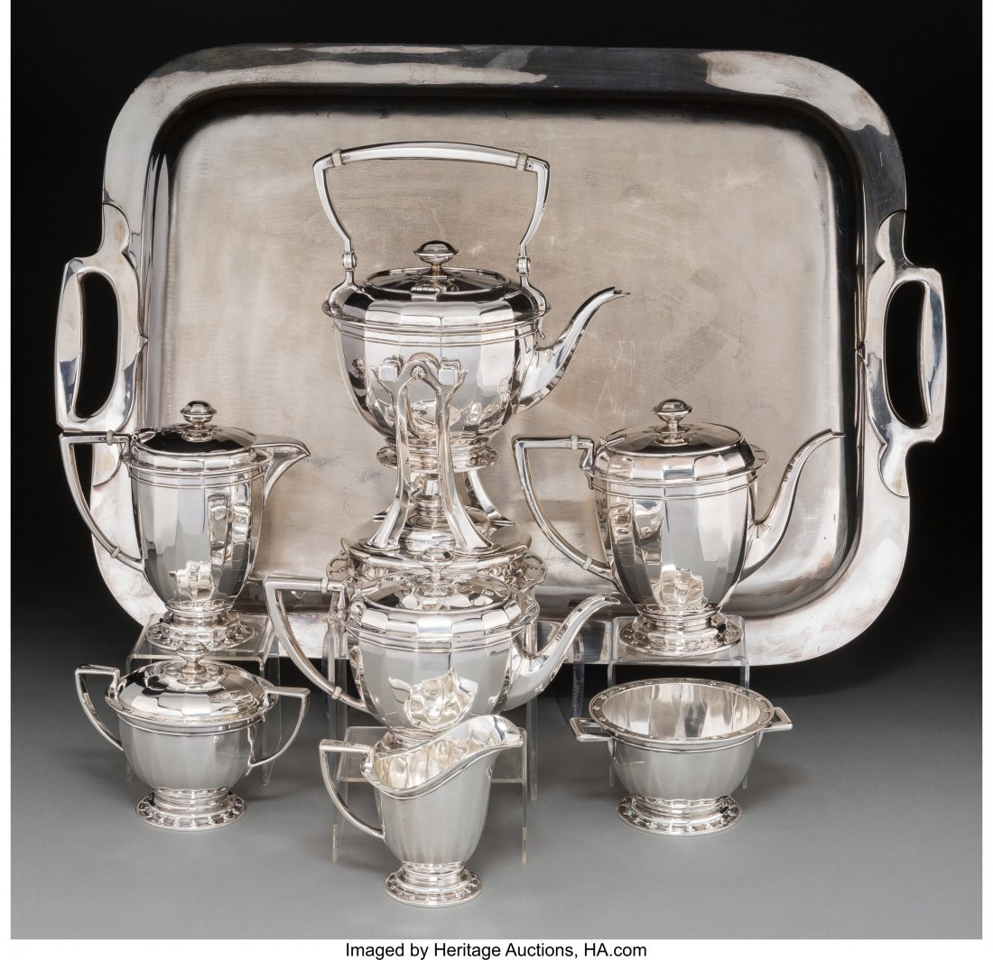 63107: An Eight-Piece Tiffany & Co. Saint Dunstan Patte - 2