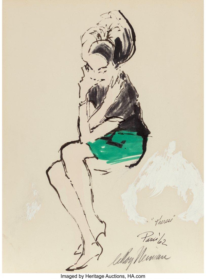 63278: LeRoy Neiman (American, 1921-2012) Therese, 1962