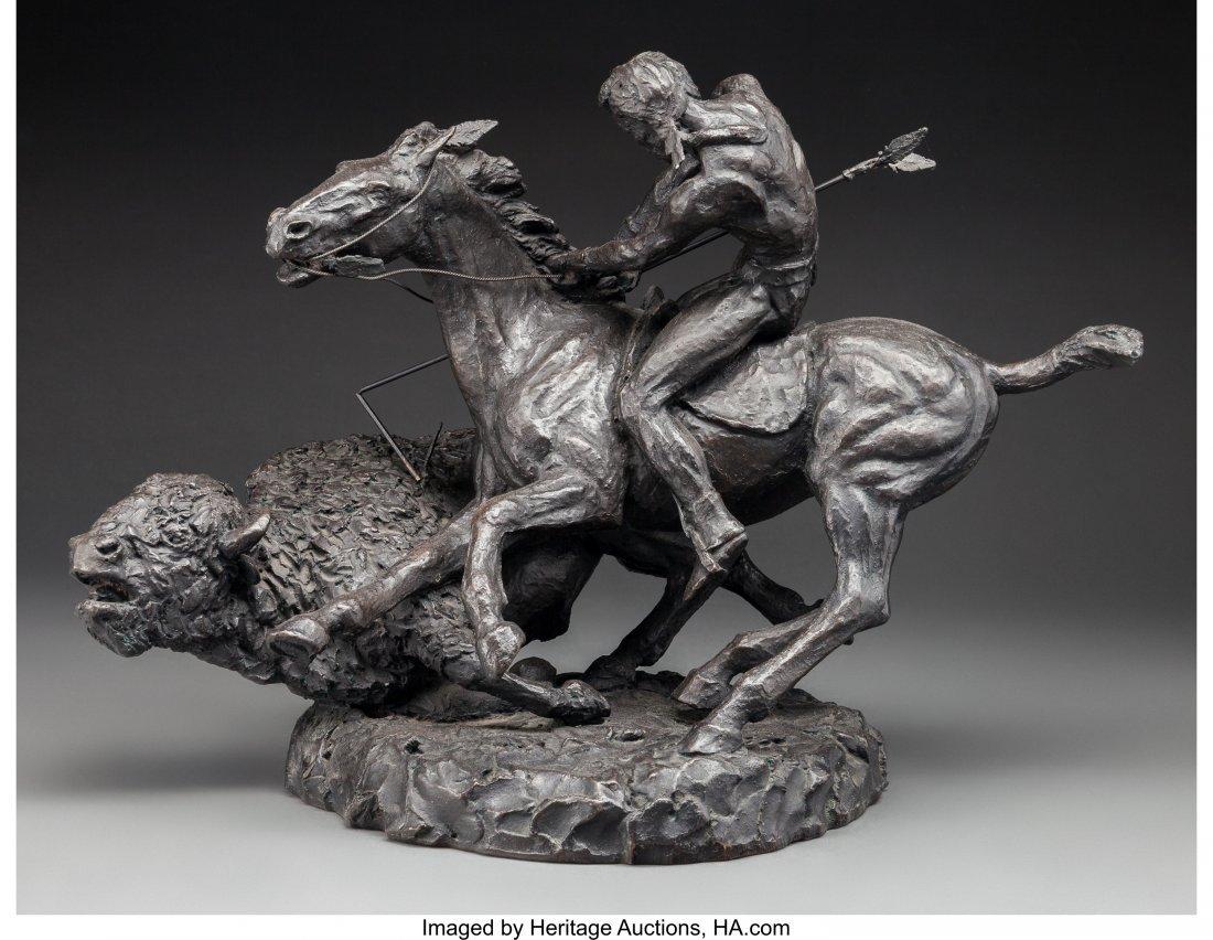 63016: Thomas Holland (American, 1917-2004) Buffalo Hun