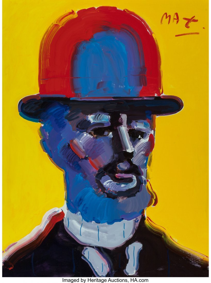 63282: Peter Max (American, b. 1937) Toulouse Lautrec O