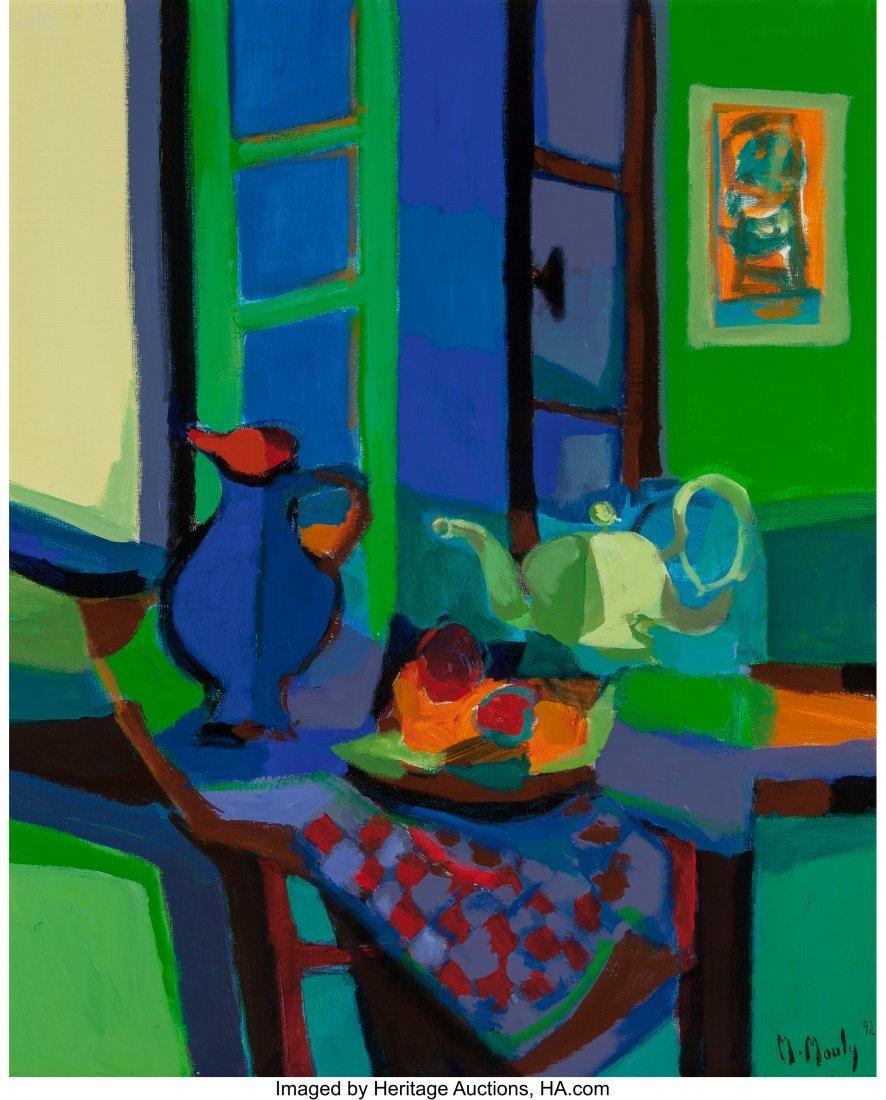 63284: Marcel Mouly (French, 1918-2008) Pichet et théi