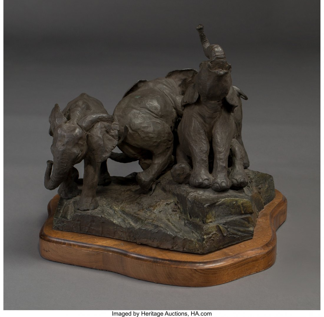 63019: Lorenzo E. Ghiglieri (American, b. 1931) African - 2