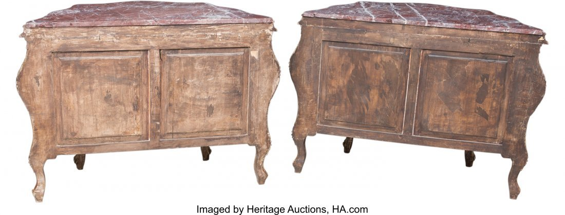 63192: A Pair of Venetian-Style Paint-Decorated Commode - 3
