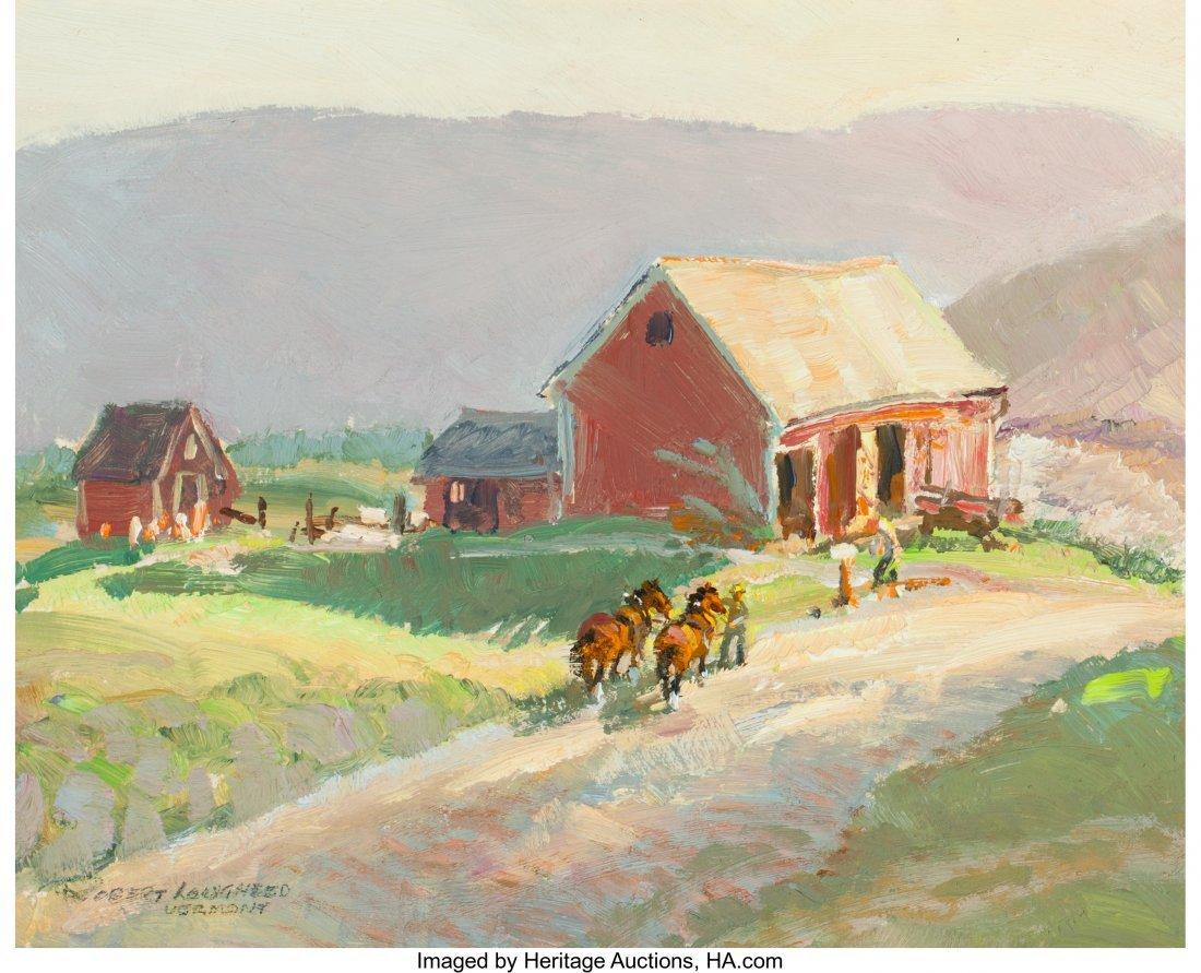 63025: Robert E. Lougheed (American, 1910-1982) On the