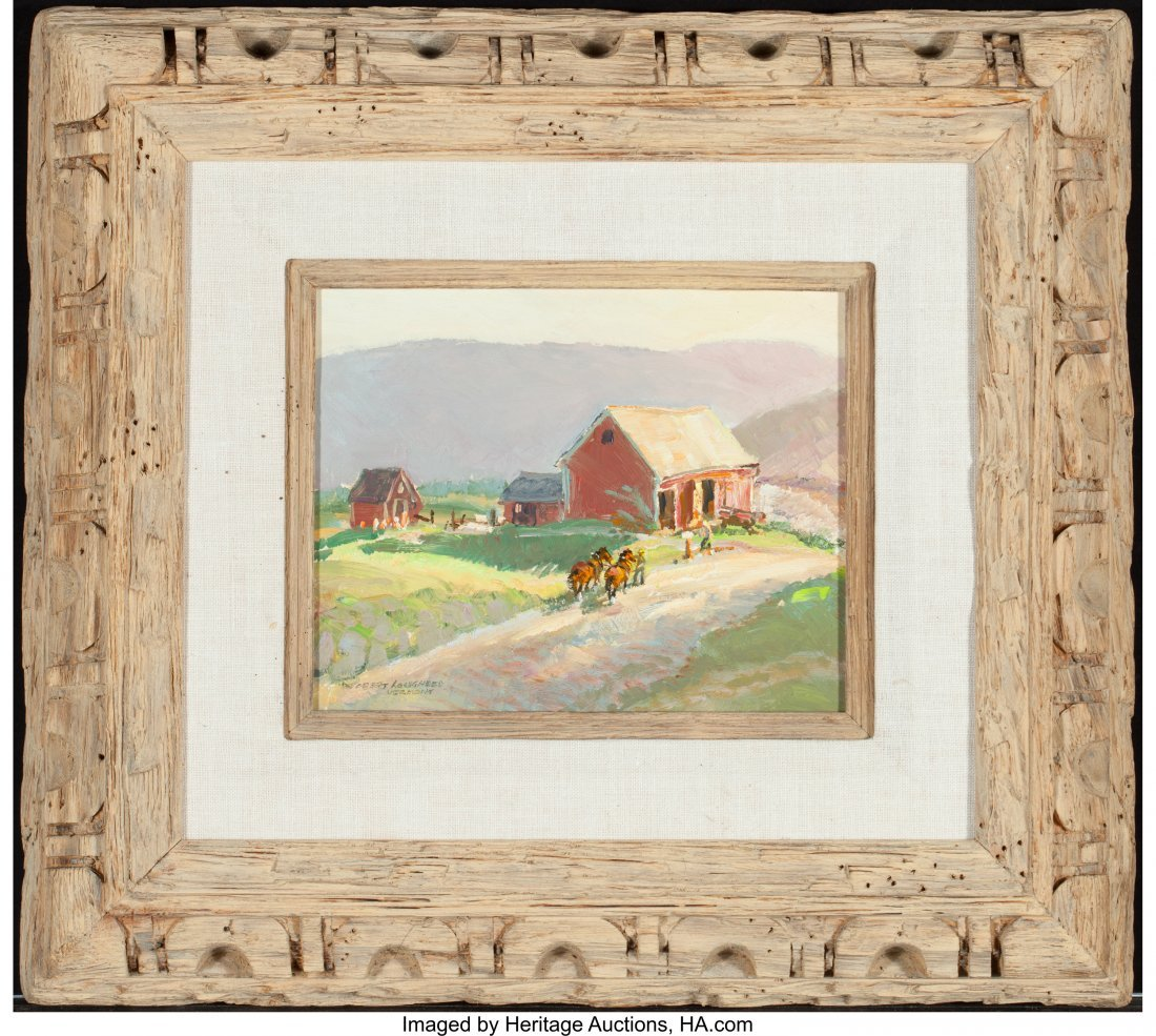 63025: Robert E. Lougheed (American, 1910-1982) On the  - 2