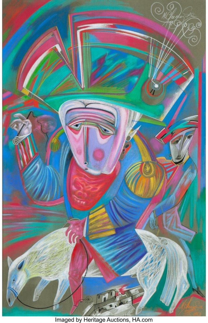 63290: Mihail Chemiakin (Russian, b. 1943) Untitled (Ma