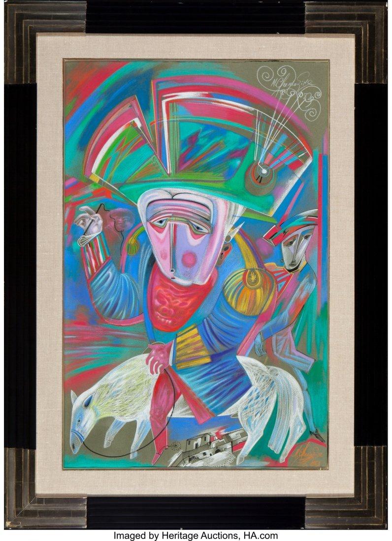 63290: Mihail Chemiakin (Russian, b. 1943) Untitled (Ma - 2