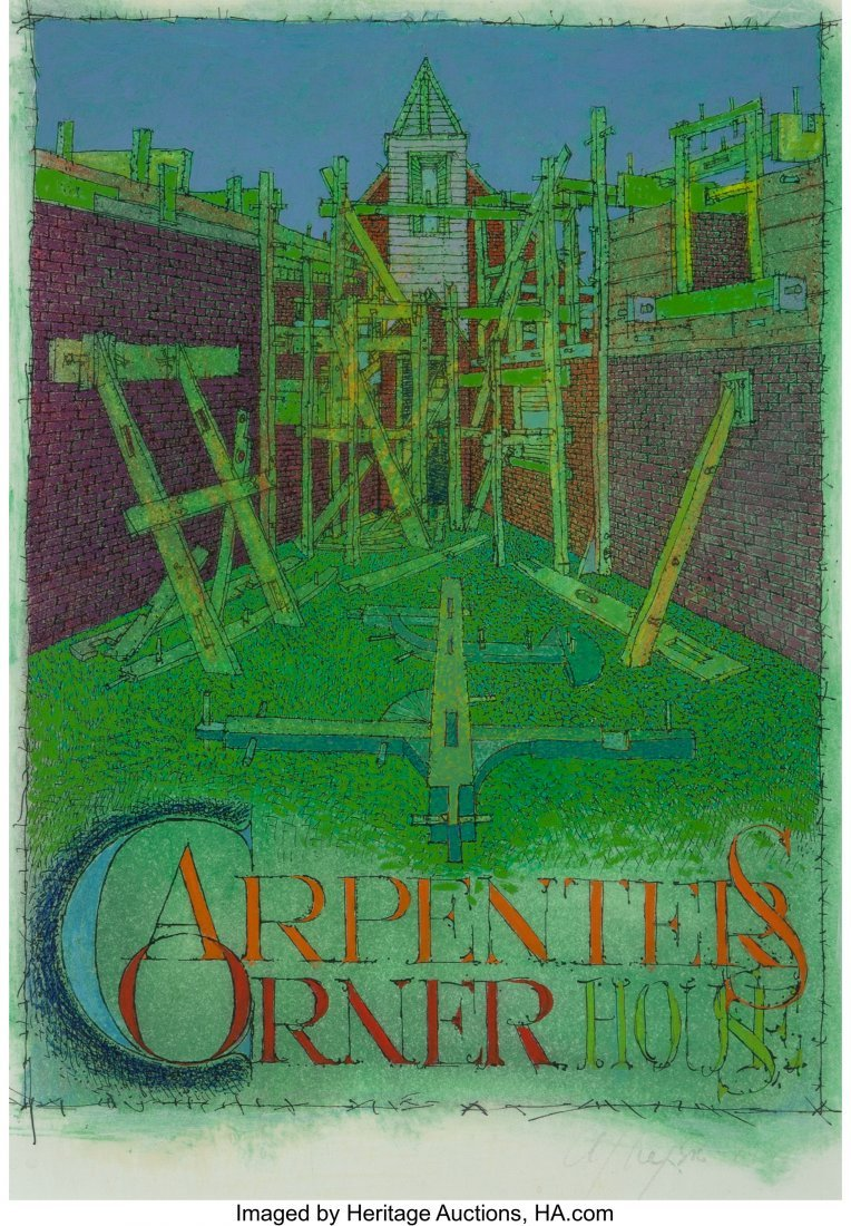 63296: Alexander John Wyse (Canadian, b. 1938) Architec