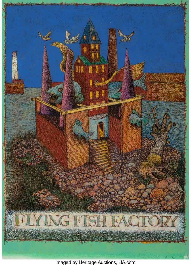 63296: Alexander John Wyse (Canadian, b. 1938) Architec - 5