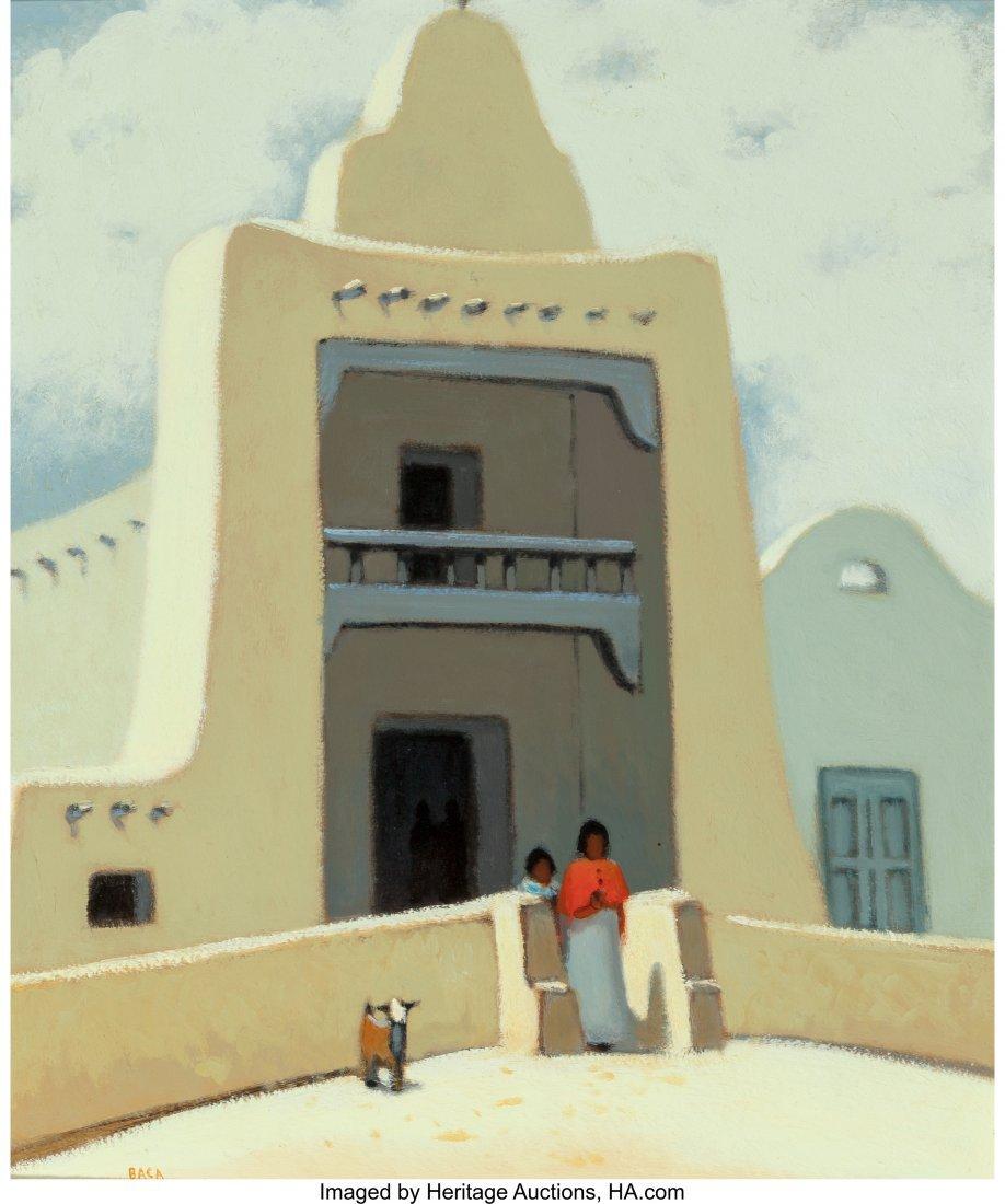 63040: Paul Baca (American, 20th Century) Santo Domingo