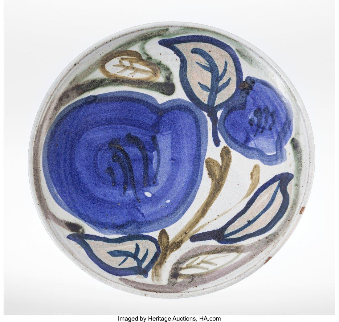 63306: A Ken Ferguson Glazed Stoneware Fruit Charger, c
