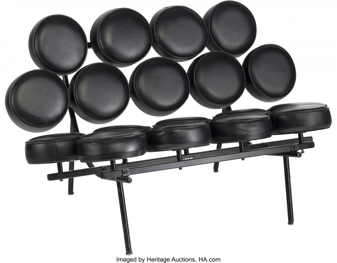 63317: A George Nelson for Herman Miller Marshmallow So
