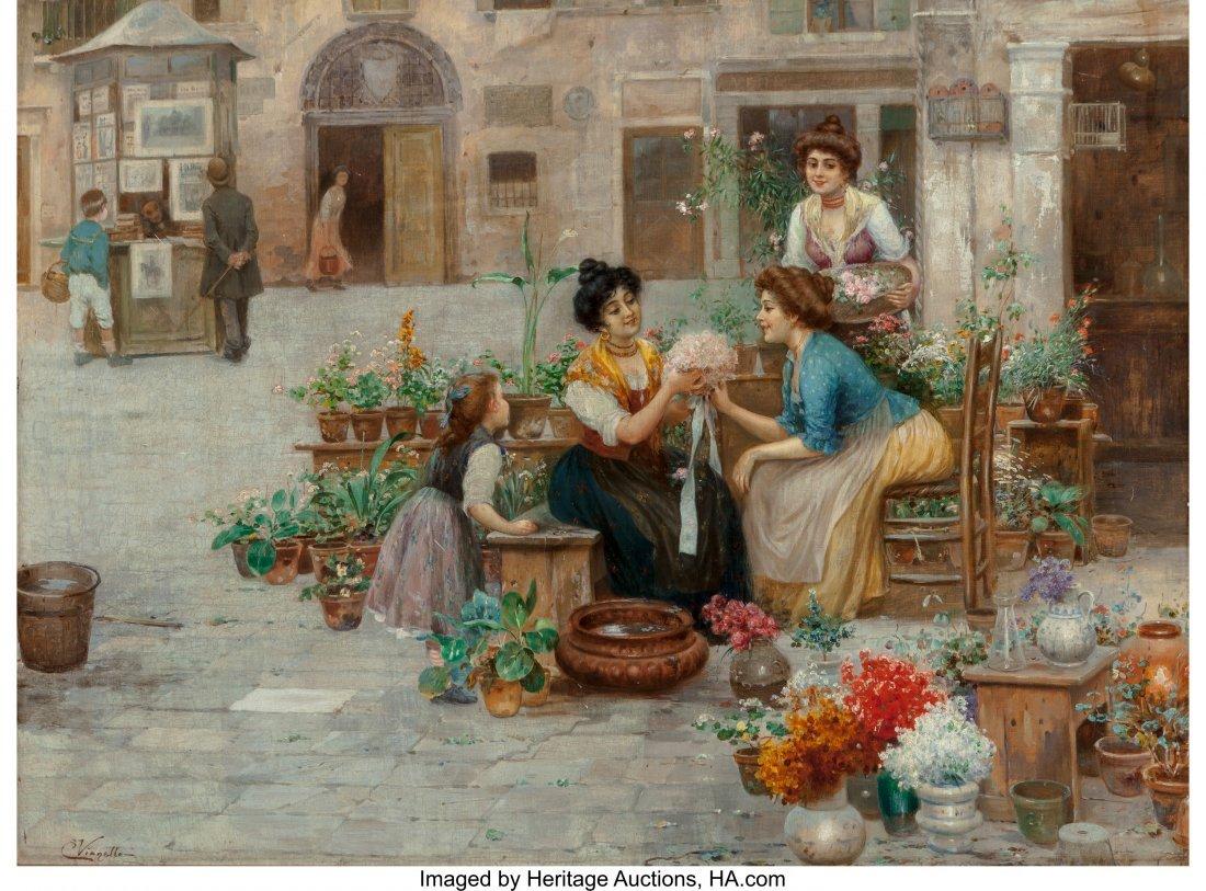 63427: Cesare Vianello (Italian, 1862- circa 1920) Flow