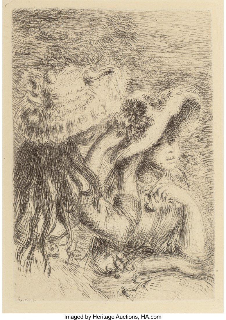 63335: Pierre-Auguste Renoir (French, 1841-1919) Le cha