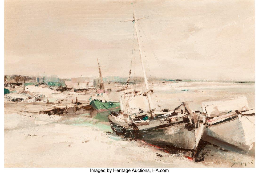 63432: Charles C. Gruppe (American, b. 1928) Shoreline