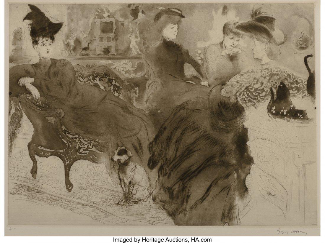 63339: Jacques Villon (French, 1875-1963) Le Potin, 190