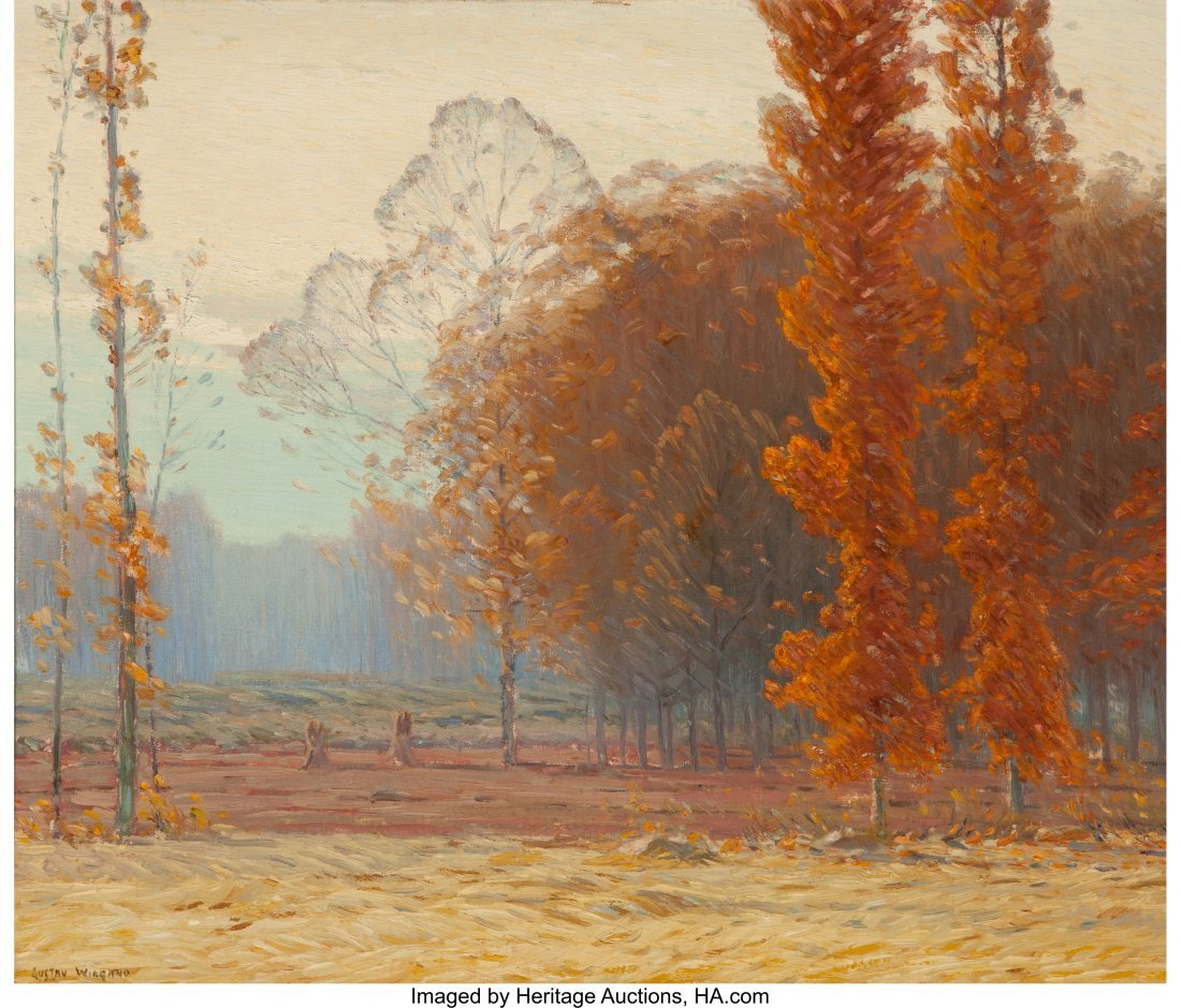 63438: Gustave Adolph Wiegand (German, 1870-1957) Fall